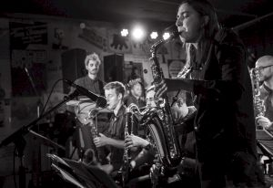 Sarah Chaksad Quartet — © Centre culturel suisse. Paris