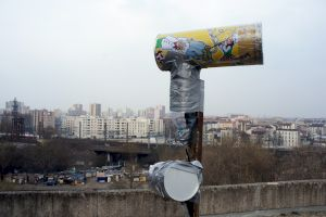 <p>© Christoph Wachter & Mathias Jud, Can you hear me? (Antennes sur l'Ambassade américaine à Berlin)</p>