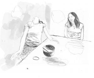 <p>© Claudia & Julia Müller, zwei Teenagers, 2021</p>