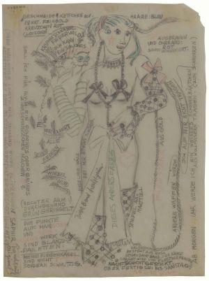 <p>Annemarie von Matt, Tourbillon, 1947</p>