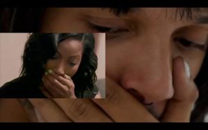 <p>James Bantone, Wha Ha Happened Was (Erica & Ariane), still 2018 featuring Basile Lusandu & Karim Manneh Video on screen, 1mn</p>